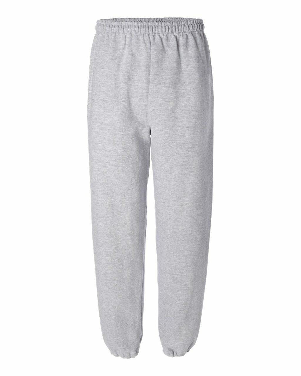 18200 Gildan Cuffed Bottom Fleece Pants