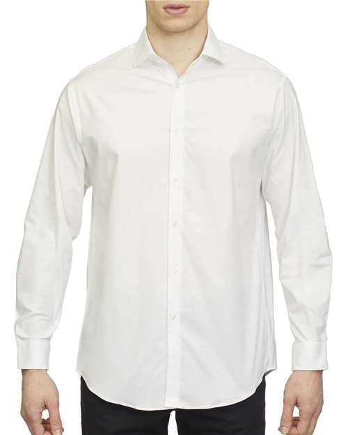 18CC108 Calvin Klein Long Sleeve Cotton Stretched Shirt
